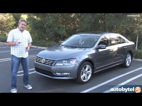 2014 Volkswagen Passat Test Drive Video Review