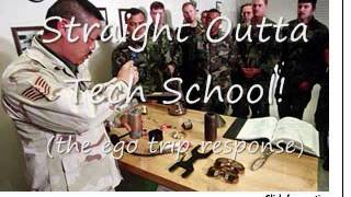 Straight Outta USAF AMMO Tech School song