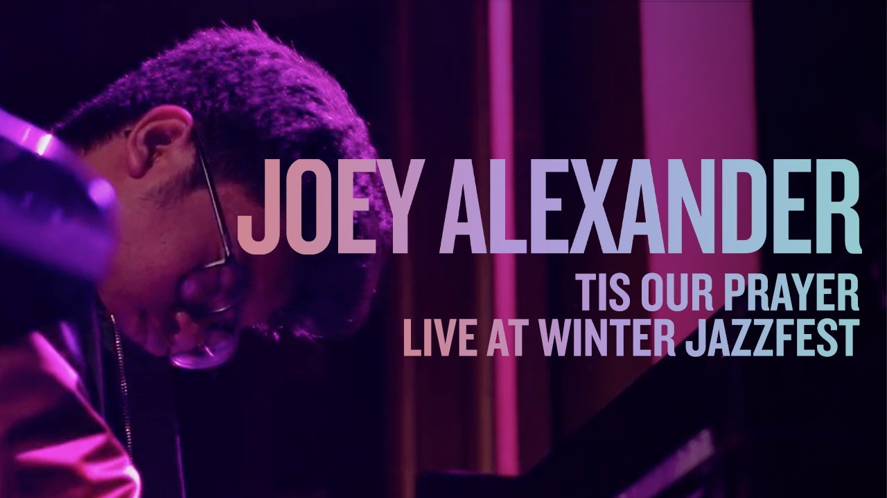 "Joey Alexander - 「Winter Jazzfest 2020」から""Tis Our prayer""のライブ映像を公開 thm Music info Clip"