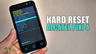 Hard Reset no Alcatel Pixi 4 (4034E) #UTICell