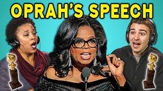 Download Lagu ADULTS REACT TO #TimesUp (Oprah's Speech, Golden Globes, #MeToo) Gratis STAFABAND