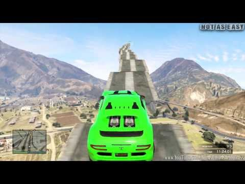 GTA 5 ONLINE Stairway To Heaven ( Fun Custom Race ) GTA V MULTIPLAYER
