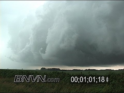 7/25/2005 Squall Line Video &amp; High Wind Video