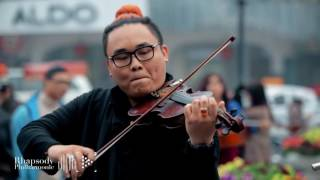 Flashmob Wake Me Up Rhapsody Philharmonic