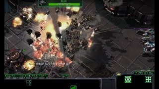 Starcraft 2 Wings of Liberty Brutal Playthrough - Mission 19 - Engine of Destruction