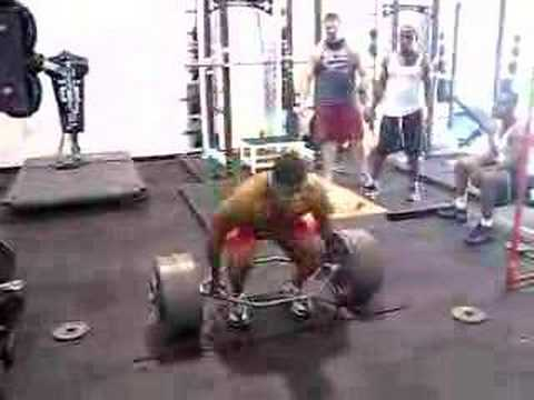 DeFrancosTraining.com - 635 lb. trap bar deadlift @ 216lbs. Image 1