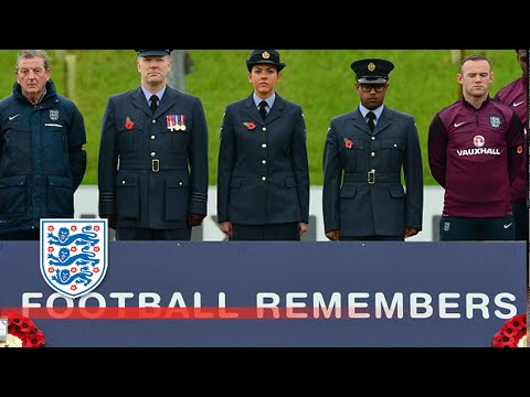 Kieran Gibbs at Remembrance Day | Player Diaries