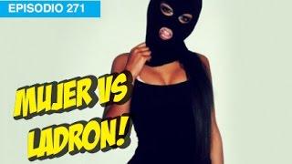 Mujer se defiende de ladron! #whatdafaqshow