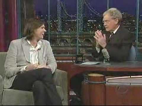 Jim Carrey on David Letterman 02/19/2007 Part 1 Video
