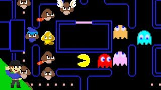 The Goomba Revolution Ep. 1 - Goombas invade Pac-Man!