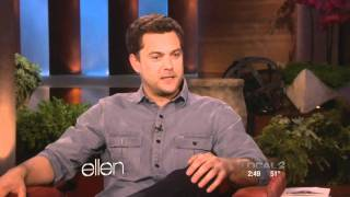 Joshua Jackson on Ellen (1-10-12) 720p