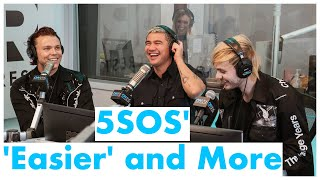 5SOS Talks 'Easier' and Answers Fans' Questions | On Air With Ryan Seacrest