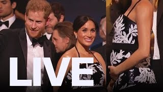 Meghan Markle Shows Growing Baby Bump Et Canada Live