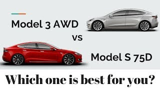 Model 3 AWD vs Model S 75D: Which one is best for you?
