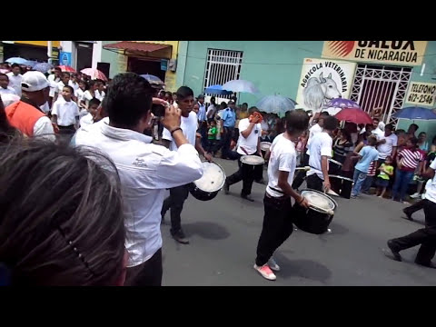 DESFILE PATRIO 2013, PARTE 1. MATAGALPA, NICARAGUA