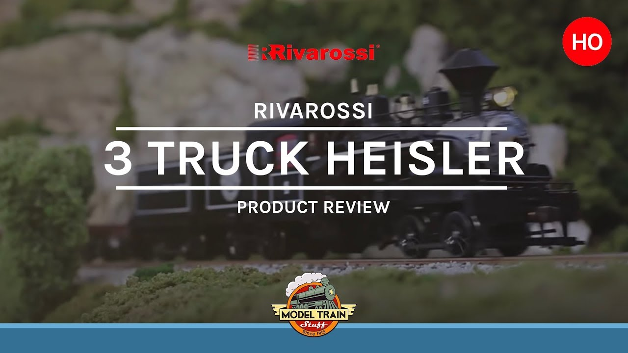 ho Scale Heisler ho Scale Rivarossi Three Truck