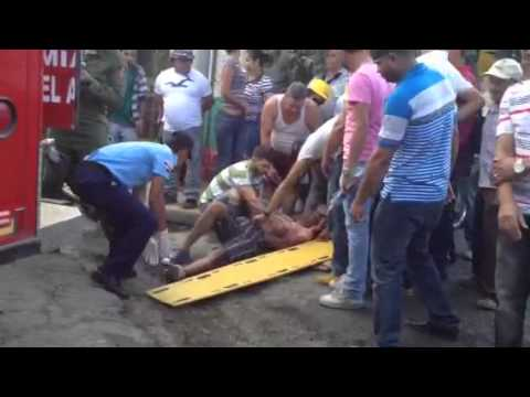 Reportes Navideños en Jarabacoa, Se reportan leves accident