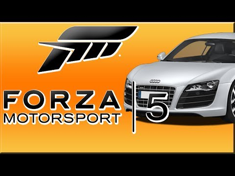 Forza 5: Audi R8 Coupé V10 Plus 5 2 Fsi Quattro   Top Gear    Outer Loop video