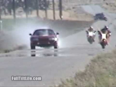 Supra BLOWS UP Motor in Roll On Race vs Suzuki Hayabusa - Kings of the Street - Busa vs Toyota