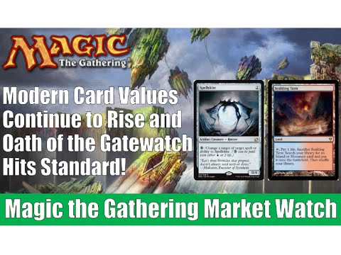 MTG Market Watch: Modern Card Values Soar and Oath of the Gatewatch Prices! Magic the Gathering!