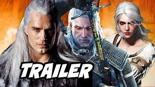 The Witcher Netflix Trailer - First Look Characters Breakdown
