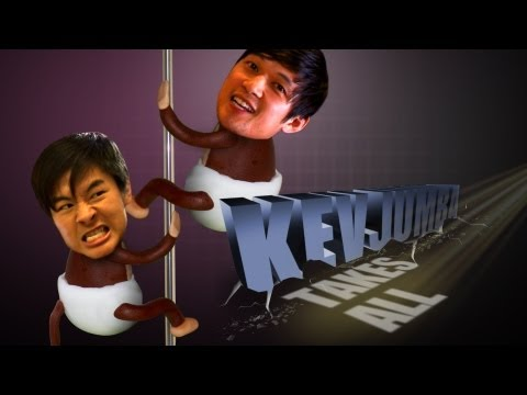 KevJumba Takes on Pole Dancing w/ Harry Shum Jr.