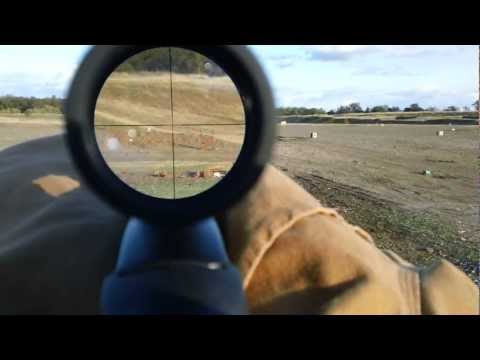300 Yard Handi Rifle .45-70 Scope Cam Test...HD)
