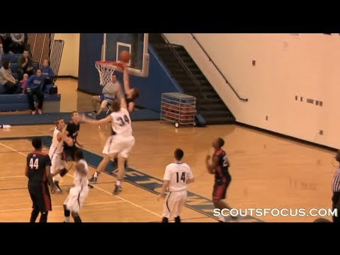 One-handed Zach Hodskins is the most amazing basketball player you'll ever see!