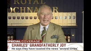 Prince Charles Delighted by Meghan and Harry's Baby News - Pippa Gives Birth (2018)