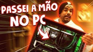 PASSEI A MÃO NO PC DA MANSÃO || VLOG 101