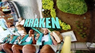 GoPro Multi-Angle POV of Kraken Roller Coaster at SeaWorld Orlando