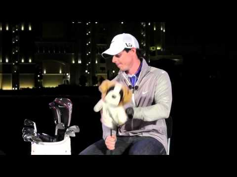 Rory McIlroy What's In The Bag - New 2013 Nike golf line-up