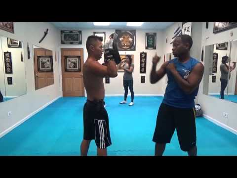 Focus Mitt Punch Training 1 : July 23 2014 Image 1
