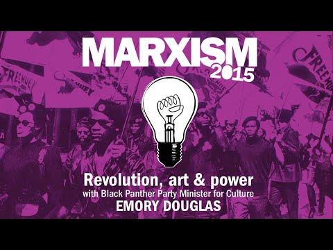 Revolution, art and power - Black Panther Emory Douglas @ Marxism 2015