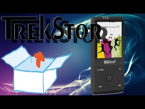 Unboxing - TrekStor i.Beat move BT (MP3-Player mit Bluetooth-Funktion und 8 GB Speicher)