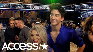 'DWTS': Milo Manheim Says He's Learned 'So Much' & Feels Like 'A New Person' After The Competition