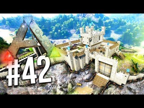ARK : Survival Evolved - NEW BASE TOUR! Sl1pG8r's SERVER EP 42 (Ark Survival Evolved Gameplay)