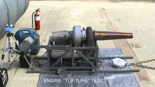 GR-7 DIY Turbojet Engine Performance Testing