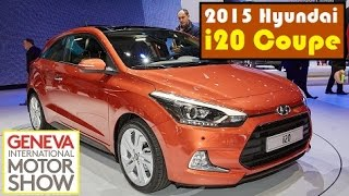 2015 Hyundai i20 Coupe, live photos at 2015 Geneva Motor Show