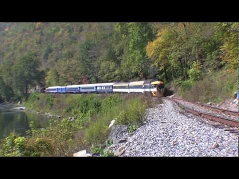 Tourist Trains of Wild & Wonderful West Virginia