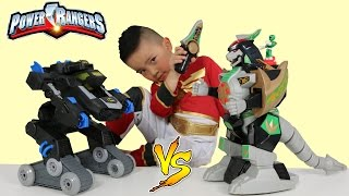 Power Rangers Dragonzord R/C Toy Unboxing With Ckn Toys Epic Batbot Vs Dragonzord Fight