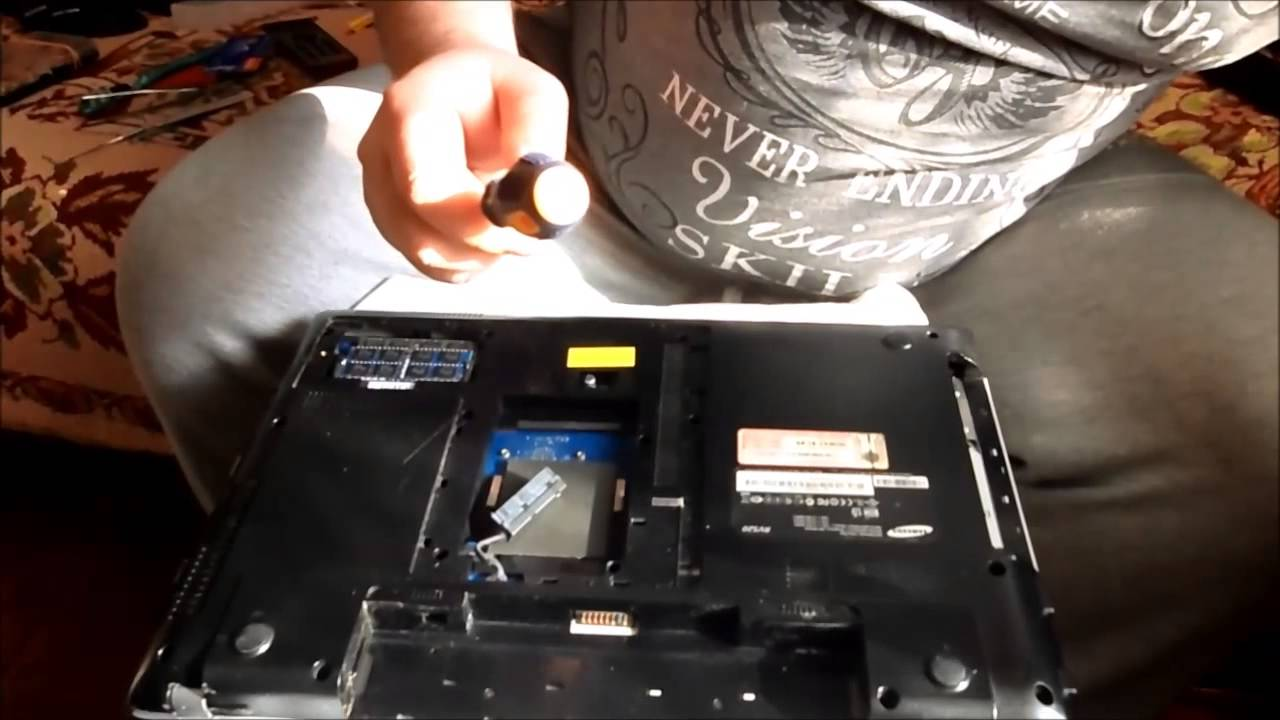 Разборка ноутбука msi ge70 - 87