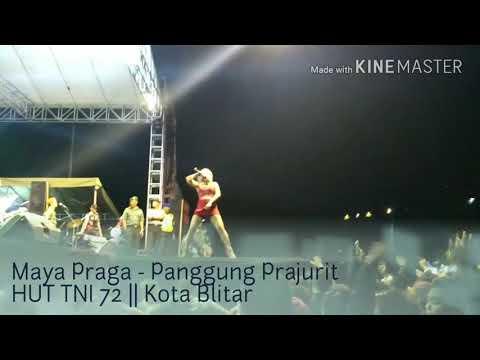 download lagu Panggung Prajurit Hut Tni 72 - Aksi Maya Praga gratis