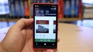 Spotify for Windows Phone 8, Nokia Lumia 920 Demo
