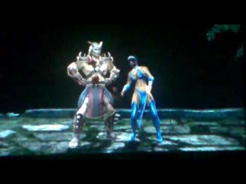 Mortal Kombat 2011 Shao Kahn GamePlay - Arcade Ladder MK9
