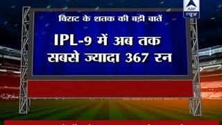 Virat Kohli hits maiden T20 century