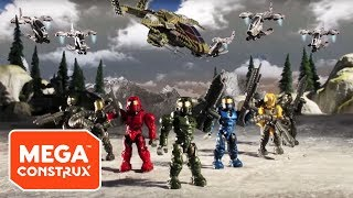 Assault on Squad 45: Episodes 1 - 4   Halo   Mega Construx
