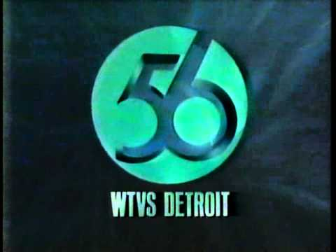 Wtvs Channel 56 Detroit Mi Sign Off Recorded In 1992mpg Youtube