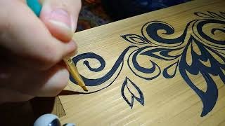 Tips for Painting an Intricate Design with ALMOST NO Artistic Talent