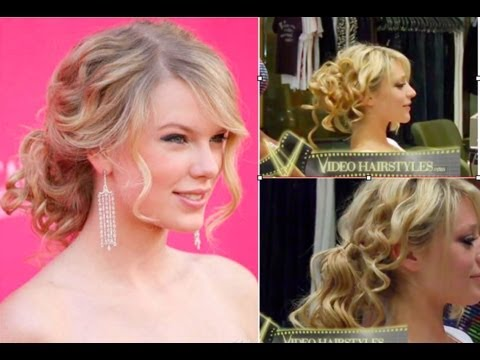 Taylor Swift hairstyle-wedding hairstyles for medium hair